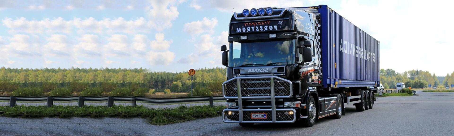 big transportation truck